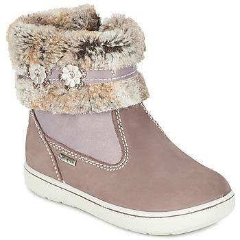 Boty Dívčí Kotníkové boty Primigi MARINA-E Béžová / Růžová