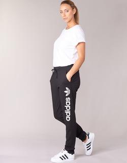 Textil Ženy Teplákové kalhoty adidas Originals LIGHT LOGO TP Černá