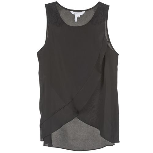 Textil Ženy Tílka / Trička bez rukávů  BCBGeneration 616725 Černá