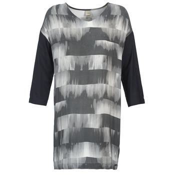 Textil Ženy Krátké šaty Bench CRISP Černá / Šedá