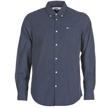 Textil Muži Košile s dlouhymi rukávy Vicomte A. JANOUPE Tmavě modrá
