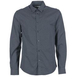 Textil Muži Košile s dlouhymi rukávy Ben Sherman LS MICRO PAISLEY Tmavě modrá