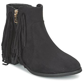 Boty Ženy Kotníkové boty Elue par nous VOPFOIN Černá