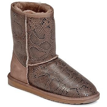 EMU Kotníkové boty STINGER PRINT LO - Hnědá