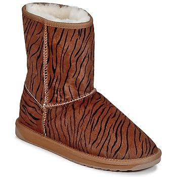 Boty Ženy Kotníkové boty EMU STINGER FUR LO Tigrovaný vzor
