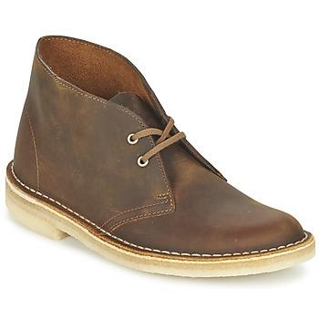 Boty Ženy Kotníkové boty Clarks DESERT BOOT Hnědá