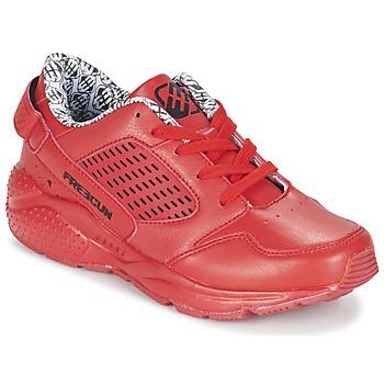 Boty Chlapecké Nízké tenisky Freegun FADSA Červená