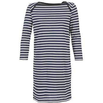 Textil Ženy Krátké šaty Petit Bateau EREMATE Tmavě modrá / Bílá