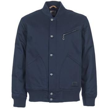 Textil Muži Bundy Lee BOMBER JCKT Tmavě modrá