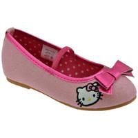 Boty Děti Baleríny  Hello Kitty  Růžová