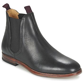 Boty Muži Kotníkové boty Hudson TAMPER CALF Černá