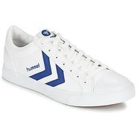 Boty Nízké tenisky Hummel BASELINE COURT Bílá / Modrá