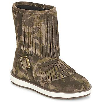 Geox Kotníkové boty Dětské NOHA - Zelená