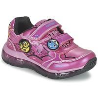 Boty Dívčí Nízké tenisky Geox ANDROID GIRL Růžová
