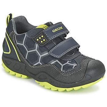 Boty Chlapecké Nízké tenisky Geox NEW SAVAGE BOY Modrá / Žlutá