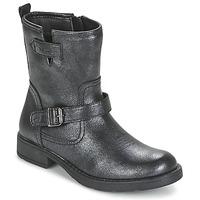 Boty Dívčí Kotníkové boty Geox SOFIA Černá