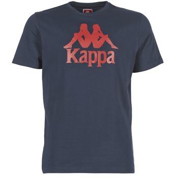 Textil Muži Trička s krátkým rukávem Kappa ESTESSI Tmavě modrá