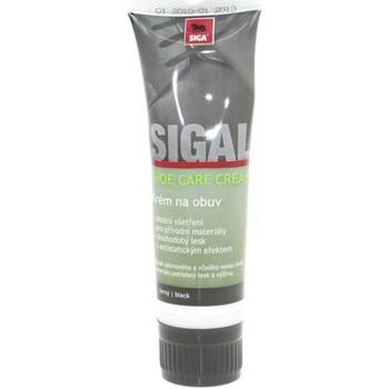 Doplňky  Péče o obuv Sigal krém s aplikátorem - černý 75 ml Other