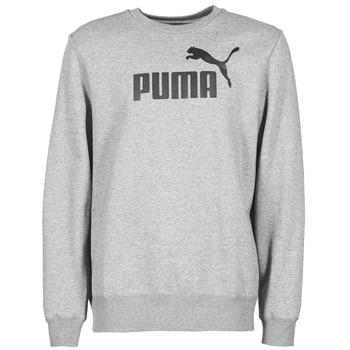 Textil Muži Mikiny Puma ESS CREW SWEAT FL Šedá