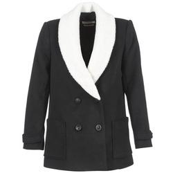 Textil Ženy Kabáty Teddy Smith MARTA Černá