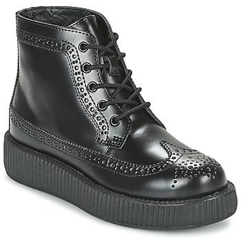 Boty Kotníkové boty TUK MONDO LO Černá