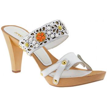 Boty Ženy Sandály Swish  Bílá