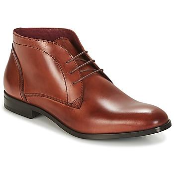 Boty Muži Kotníkové boty Carlington MANNY Hnědá