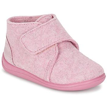 Boty Dívčí Papuče Citrouille et Compagnie FELINDRA Růžová