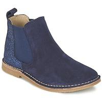 Boty Dívčí Kotníkové boty Citrouille et Compagnie FIGOULI Modrá