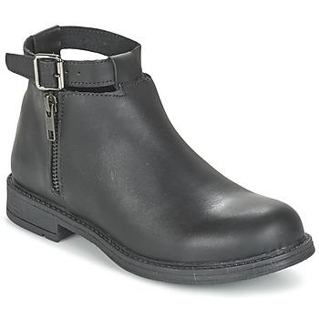 Boty Dívčí Kotníkové boty Citrouille et Compagnie FRIZZY Černá