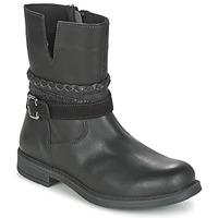 Boty Dívčí Kotníkové boty Citrouille et Compagnie FURAMO Černá