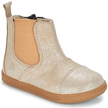 Boty Dívčí Kotníkové boty Citrouille et Compagnie FEPOL Stříbrná