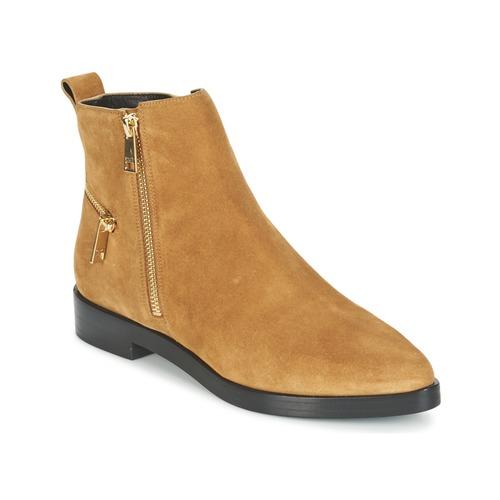 Boty Ženy Kotníkové boty Kenzo TOTEM FLAT BOOTS Velbloudí hnědá