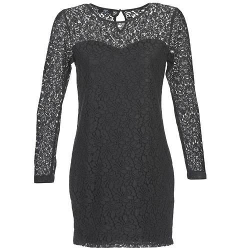 Textil Ženy Krátké šaty Le Temps des Cerises JOE Černá