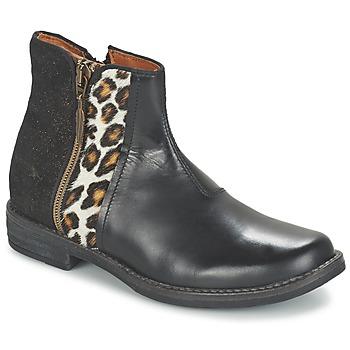 Boty Dívčí Kotníkové boty Shwik TIJUANA WILD Černá