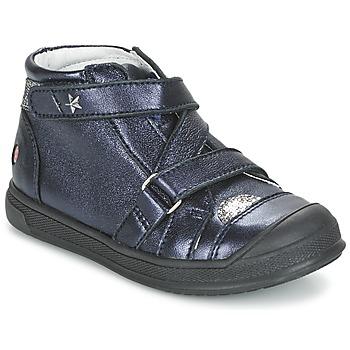 Boty Dívčí Kotníkové boty GBB NADEGE Tmavě modrá