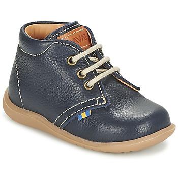 Boty Chlapecké Kotníkové boty Kavat HAMMAR LACE Modrá