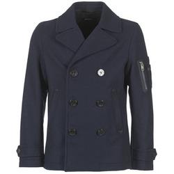 Textil Muži Kabáty Diesel W SAMICO Tmavě modrá