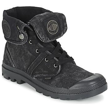 Boty Muži Kotníkové boty Palladium US BAGGY Černá / Metalíza