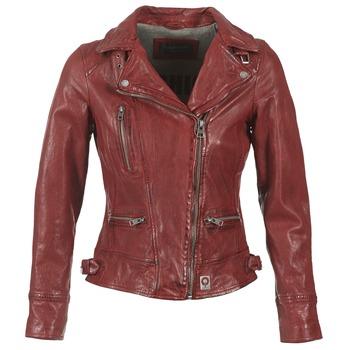 Textil Ženy Kožené bundy / imitace kůže Oakwood 62065 Červená