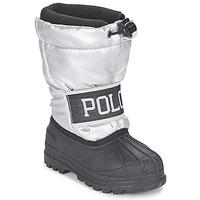 Boty Dívčí Zimní boty Ralph Lauren JAKSON Stříbřitá / Černá