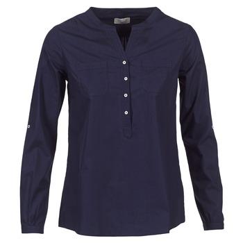 Textil Ženy Košile / Halenky Casual Attitude FARANDOLE Tmavě modrá