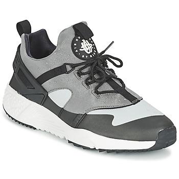 Boty Muži Nízké tenisky Nike AIR HUARACHE UTILITY Šedá