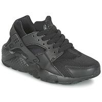 Boty Chlapecké Nízké tenisky Nike HUARACHE RUN JUNIOR Černá