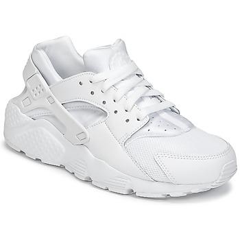 Boty Chlapecké Nízké tenisky Nike HUARACHE RUN JUNIOR Bílá