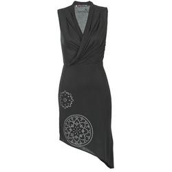 Textil Ženy Krátké šaty Desigual RAZIANA Černá