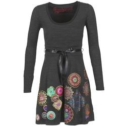 Textil Ženy Krátké šaty Desigual RIDOUBA Šedá