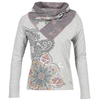 Textil Ženy Mikiny Desigual CASMIBA Šedá