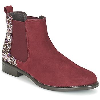 Boty Ženy Kotníkové boty Betty London FREMOUJE Bordó
