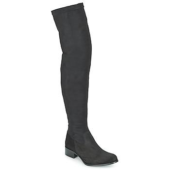 Boty Ženy Vysoké kozačky nad kolena Betty London FOUGUILLE Černá